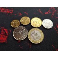 1,5,10,20,50,100 тенге 2019 года Казахстана (6 монет) Латинский алфавит 33