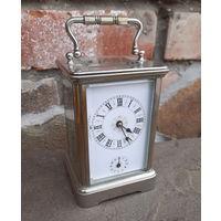 С 1 Рубля!Каретные часы с будильником Франция 19-век