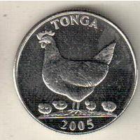 Тонга 5 сенити 2005