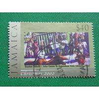 Ямайка 2002г. Рождество.