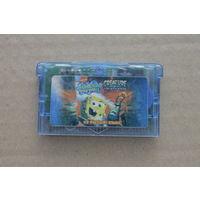 Картридж GameBoy Advance Spongebob Squarepante на русском