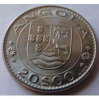 Ангола 20 эскудо 1971 г