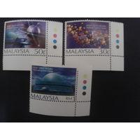 Малайзия 1998 Наука, научный центр полная серия