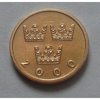 50 эре, Швеция 2000 г.