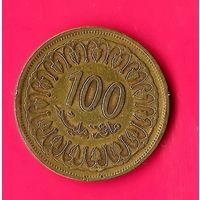 11-31 Тунис, 100 миллимов 1983 г.