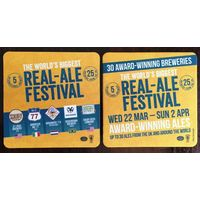 Подставка под пиво для фестиваля пива  /Великобритания/