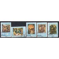 Живопись Панама 1967 год 6 марок