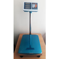 Напольные торговые весы ST-TCS до 150 кг с платформой 30*40 см