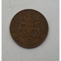 10 центов 1971 г. Кения