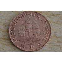 Южная Африка 1 пенни 1948