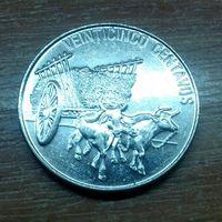 Доминиканская Республика 25 сентаво 1991 (2)