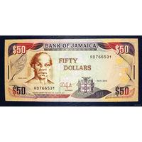 РАСПРОДАЖА С 1 РУБЛЯ!!! Ямайка 50 долларов 2010 год UNC