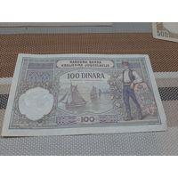 Югославия 100 динаров 1929