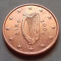 1 евроцент, Ирландия 2004 г.
