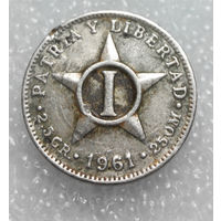 1 сентаво 1961 Куба #01