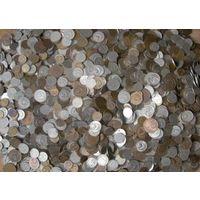Большая куча монет!!!около 5кг!!!Монеты СССР