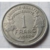 Франция 1 франк, 1959      ( К-6-4 )