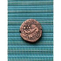 Индия, Княжество Майсур 20 кэш 1833 г., редкая