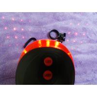 Задний фонарик для велосипеда с лазерной проекцией