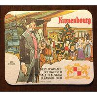 Подставка под пиво Kronenbourg No 18