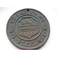 Медаль настольная керамическая. 12