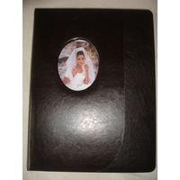 Большой альбом для свадебных фото магнитный 20 листов 43 см х 33 см