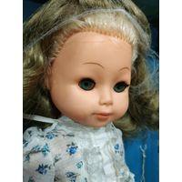 Кукла ГДР. Большая кукла. Родная коробка.