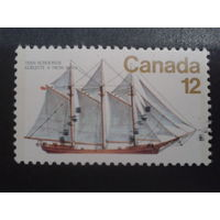 Канада 1977 парусник