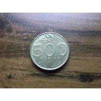 Индонезия 500 рупий 2001