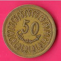 41-37 Тунис, 50 миллимов 1993 г.