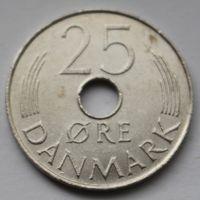 Дания, 25 эре 1978 г