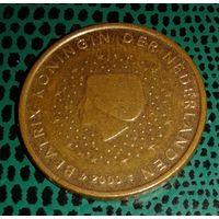 5 евроцентов, Нидерланды, 2000