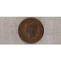 Цейлон Шри Ланка 5 центов 1870 /ВИКТОРИЯ//(D)