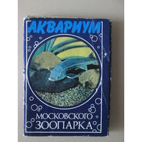 Набор открыток Аквариум Московского зоопарка