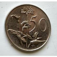 ЮАР 50 центов, 1970 3-2-21