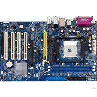 AMD 754  Asrock K8Upgrade-NF3 AGP, DDR1 2шт,  IDE- 2шт, SATA-2шт (200698)