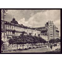 1954 год Киев Крещатик