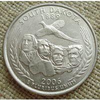 25 центов 2006 США - Южная Дакота