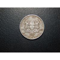 Кения 50 центов 1980