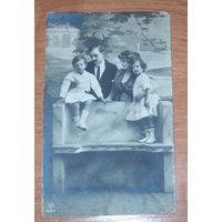 Старая фото-открытка 1914 г