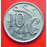 13-30 Австралия, 10 центов 1971 г.