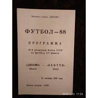Динамо Мн - Нефтчи Кубок СССР 1988г