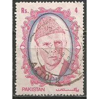 Пакистан. М.А.Джин. Основатель государства. 1989г. Mi#755.