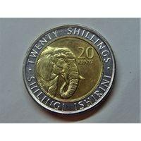 Кения 20 шиллингов 2018