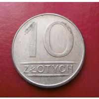 10 злотых 1986 Польша #06