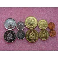 Гондурас набор 5 монет 1957-2006 UNC