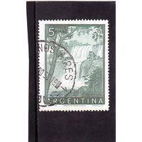 Аргентина.Ми-628. Водопад Игуасу.1955.