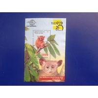 Индонезия 1999 Фил. выставка, фауна Блок*