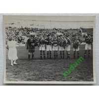 Динамо Минск 1950-е годы  фото размер 8.5х11.5 см