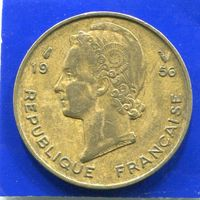 Французская Западная Африка 10 франков 1956
